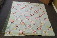 Vintage ANTIQUE QUILT~ Wall Hanger 72x60 inches, eBay, tuck5240