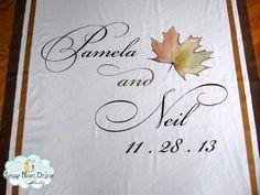 It's time to get ready for Fall weddings! #fallweddingrunners, #weddingaislerunners