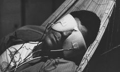 """Meditating on the century… """"La Jetée"""" Chris Marker's much-celebrated short film, made from a series of still images. Beau Film, Susan Sontag, Best Sci Fi Movie, Sci Fi Movies, The Criterion Collection, Ex Machina, French Films, Classic Films, Film Stills"""
