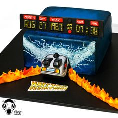 Another Back To The Future cake!