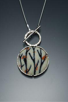 Toggle pendant by Angela Gerhard Love toggles