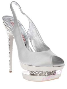 e1161072264 Grey suede elasticated slingback peep toe sandal from Gianmarco Lorenzi  featuring a crystal embellished heel and a patent effect platform with an  inversed ...