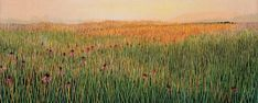 Spring Morning - embroidered artwork - must see in person, it's truly amazing