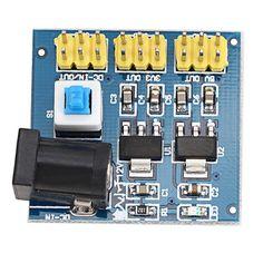 Convertidor de voltaje de CC-CC de múltiples salidas módulo de fuente de alimentación de 12V a 3.3v / 5v / 12v