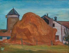 View Farm scene with haystack, Trenton by Frederick Horsman Varley on artnet. Browse upcoming and past auction lots by Frederick Horsman Varley. Group Of Seven Artists, Impressionist Landscape, Canadian Art, His Travel, Farm Yard, Art Auction, Farm Life, Traditional Art, Van Gogh