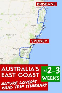Australia's East Coast: Road Trip Itinerary for Nature Lovers | Skip the cities to hike, see wildlife and dive or snorkel in the best spots on the New South Wales Coast! #Australia #RoadTrip #NSW #BucketList #NewSouthWales