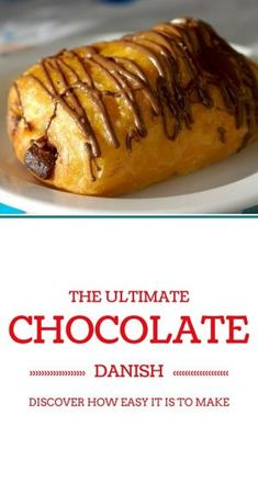Awesome and easy recipe for a chocolate danish. I never realized how easy they are to make until I found this recipe. With just a few simple tricks and easy to follow instructions I did it - and they were so so good. Even the pastry of the danish was surprisingly easy and really tasty. by jeannie