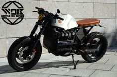 EX bmw, this doesn't want to be simply a cafe racer, this is Bad for bad riders, not poser. by wob-worksonbiketdotcom