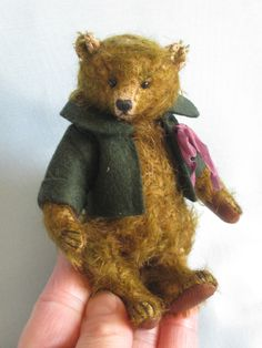 Barthelemy 4.5 Inches, Old Post Office Bears by Dawn Jellis-Jones