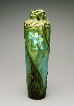 omgthatartifact:  Vase Edmond Lachenal, 1900 The Indianapolis Museum of Art