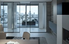Open and transparent to the city | Apartments Rimadesio: velaria sliding doors schufideuren