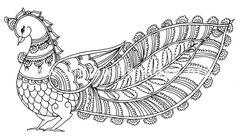 Motifs from Kalamkari style of painting Saree Painting, Kalamkari Painting, Madhubani Painting, Mural Painting, Fabric Painting, Painting & Drawing, Painting Styles, Traditional Paintings, Traditional Art