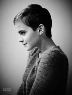 short hair emma. ah i have this cut now... but how do i grow it out?!
