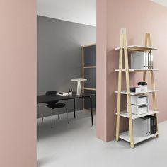 Normann Copenhagen One step up wandrek | AmbienteDirect Room Colors, Wall Colors, Dulux Paint Colours Pink, Pastel Colors, Pastel Decor, Living Room Decor, Bedroom Decor, Living Rooms, Deco Rose