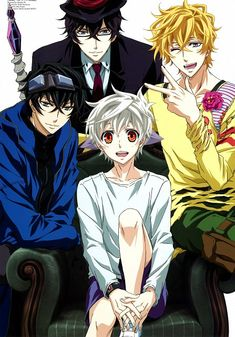 Karneval - Pretty good anime.... Pretty freaking good anime :D