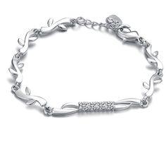 Silver Tone Bracelet (AS THE PICTURE) China Wholesale - Sammydress.com