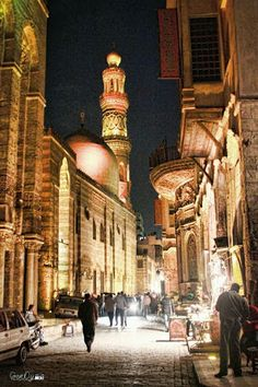 Muizz Street Wouldn't Sleep But I Would :)       Nite............................. All............. Peace & Love Be Upon #Egypt  ................... Earth & You...........