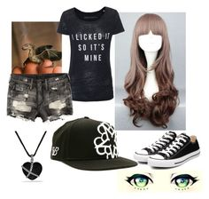 """""""The Dragon Tamer"""" by the-brit-tiger ❤ liked on Polyvore featuring H&M, Converse and David Yurman"""