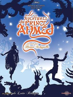 The Adventures of Prince Achmed- The first ever feature-length animated film, and one of the most stunning I've ever seen