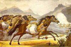 Debret - Carga de cavalaria guaicuru - Povos indígenas do Brasil – Wikipédia, a…