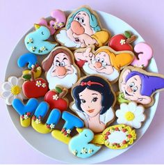 Snow White Cookie Set
