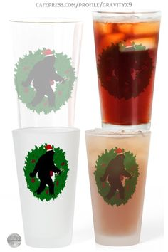 * Gone Christmas Squatchin' Frosted Stein by #Gravityx9 at Cafepress #SquatchMe * This Sasquatch design is available on several sizes and styles of tumblers and drinking glasses. * Also on Christmas Shirts, home decor and more. * Christmas coffee mugs * Christmas Beer Steins * Sasquatch Beer Stein * bigfoot coffee mugs gift ideas * Christmas beer stein gift ideas * #Sasquatch #gonesquatchin #ilovexmas #Christmasmug #holidaymug #Christmascoffeemug #beerstein #bigfoot 0920