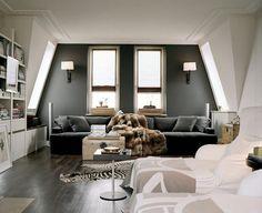 Parede cinza   Como combinar na decoração
