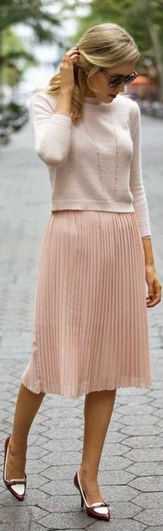 Even though I like the look of fine knife-pleats, this shape always looks frumpy on me.  Avoid...