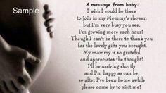 Printable Baby Shower Poem By Augustbloomdesigns Baby Allred
