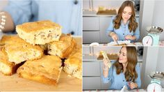 In this video I bake blondies, which are basically white chocolate brownies! Please tweet me a photo or post a photo on instagram using the hashtag #BakingWi...