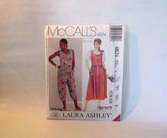 Vintage McCalls Pattern 4824 uncut 1990 SIZE by streetcrossing