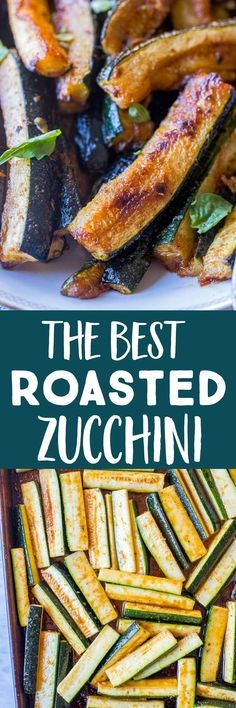 The Best Seasoned Roasted Zucchini. Calling all zucchini lovers! This recipe makes the BEST Roasted Zucchini! It's flavorful, caramelized and so delicious! Perfect for a summer side dish. Taco Side Dishes, Best Side Dishes, Healthy Side Dishes, Side Dish Recipes, Food Dishes, Dinner Recipes, Corn Salad Recipes, Vegetable Recipes, Vegetarian Recipes