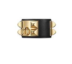 74c2ae6d93ac Collier de Chien bracelet   Hermès.com Fermoir Bracelet, Bijoux En Cuir,  Cuir