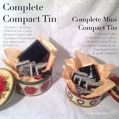 Complete Compact Tin $71 Mini Complete Compact Tin $55 @marykayus