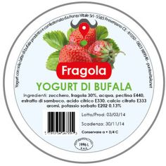 Yogurt di Bufala, gusto Fragola: http://www.puntovitale.net/shop/yogurt-di-latte-di-bufala/yogurt-alla-fragola