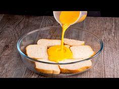 Neuvěřitelný chléb hotový za pouhých 5 minut.  Chutný TV - YouTube Cheddar, Sandwiches, Food And Drink, Appetizers, Pudding, Healthy Recipes, Cheese, Desserts, Yogurt