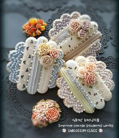 인블러썸ICINGCOOKIE & FLOWER CAKE @inblossom9_woo - 심화반 회원작품 Improve course s...Yooying