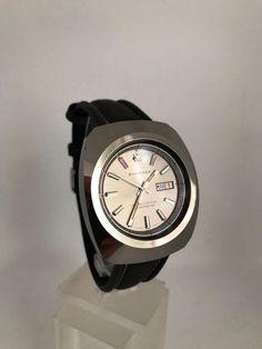 Bucherer Chronometer 70er Swiss Made in Steinen kaufen bei ricardo.ch Chronometer, Leather, Accessories, Vintage, Branding, Luxury, Jewlery, Vintage Comics