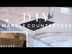 All About Incredible Countertops DIY Painted Granite Countertops, Painting Kitchen Countertops, Countertop Makeover, Diy Concrete Countertops, Epoxy Countertop, Laminate Countertops, Refinish Countertops, Granite Kitchen, Diy Marble