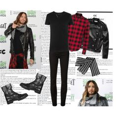 """Jared Leto at Film Independent Spirit Awards 2014."" by mariaalovett on Polyvore"