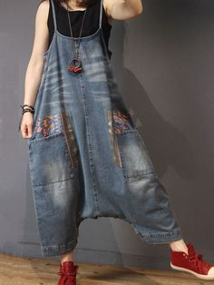 NewChic – Fashion Chic Kleidung Online, entdecken Sie die neuesten Modetrends Mobile NewChic – Fashion Chic Clothing Online, Discover the Latest Mobile Fashion Trends, Boho Mode, Mode Hippie, Denim Fashion, Boho Fashion, Fashion Women, Denim Jumpsuit, Denim Overalls, Culotte Pants, Cropped Trousers