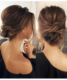 prom hair updo curly hair updos half up h. prom hair updo curly hair updos half up hairstyles updo hairstyles for weddings pin up hairstyles curly updos half updo updos for medium length hair prom hair simple updos cute Low Bun Hairstyles, Wedding Hairstyles For Long Hair, Wedding Hair And Makeup, Hair Makeup, Trendy Hairstyles, Long Hair Updos, Bridal Hairstyles, Low Bun Wedding Hair, Party Hairstyles