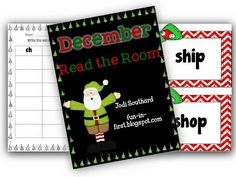 Digraph Read the Room Freebie
