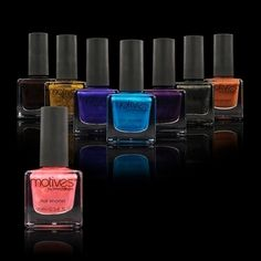 Motives+Cosmetics+Nail+Candy+Trend+Kit Nail Candy 6.95 beautiful colors! Order yours at