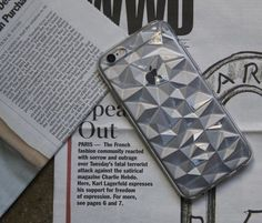 To consider this Multi Faceted Clear Rubber iPhone 6 Plus Case a soft shell for your iPhone would be an understatement.