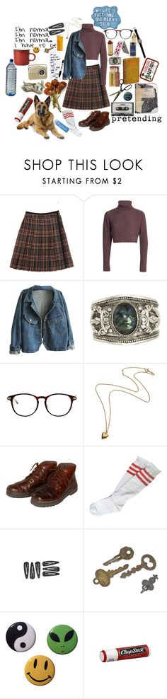 """I'm Normal"" by causingpanicatthetheater on Polyvore featuring Steven Alan, Sharpie, DK, Rockport, CASSETTE and Chapstick"