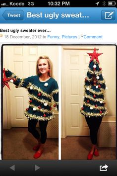 Best ugly Xmas sweater ever