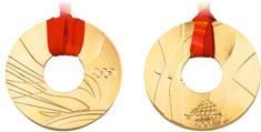 Medalla de los Juegos Olímpicos de invierno Torino 2006 en Italia