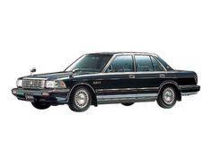 トヨタ クラウンセダン 4.0 ロイヤルサルーンG エレクトロマルチビジョン装着車 4AT (1989年08月~1990年07月)カタログ・燃費