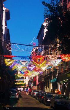 Fiestas de la Paloma 15 de Agosto